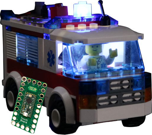 LEGO® Project - Truck with Working Lights