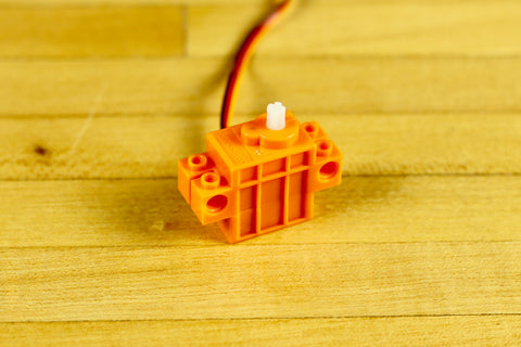 LEGO Compatible Continuous Rotoation 360 Degree Servo