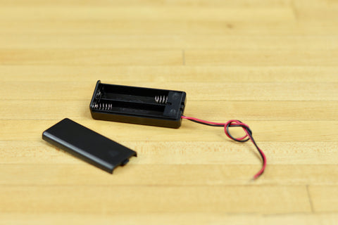 2AAA Battery Holder With Switch