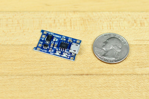 Lithium Battery Micro USB Charge Controller