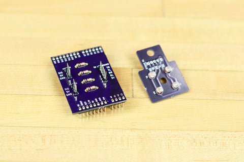 Solar Tracker Servo Shield and Sensor PCB Set