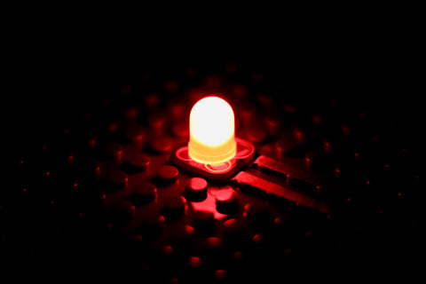 Red Jumbo Diffused LED Chip