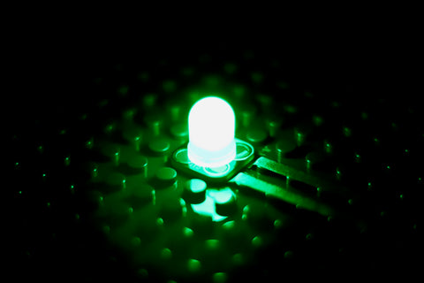 Green Jumbo Diffused LED Chip