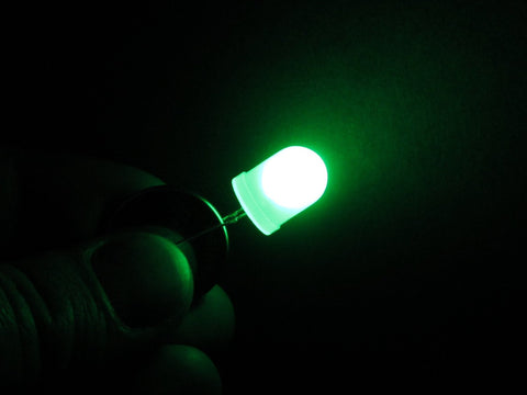 Jumbo 10mm Diffused LEDs
