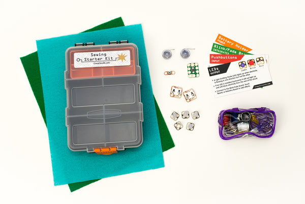 Crazy Circuits Sewing Starter Kit