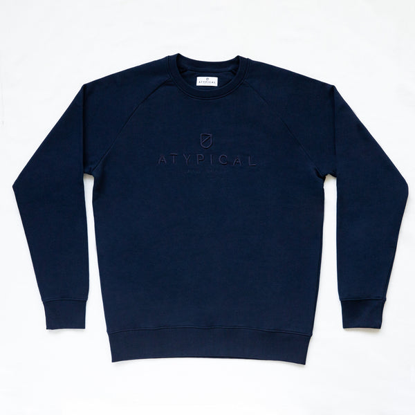 Logo Sweatshirt French Navy