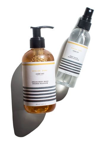 Orange Blossom Body Wash + Fresh Water Mist Set