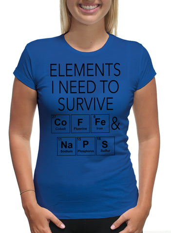 COFFEE & NAPS PERIODIC TABLE
