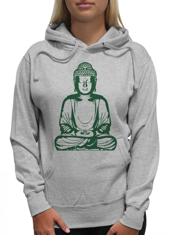 Green Buddha Praying