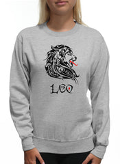 Leo Black Lion Astrological Sign