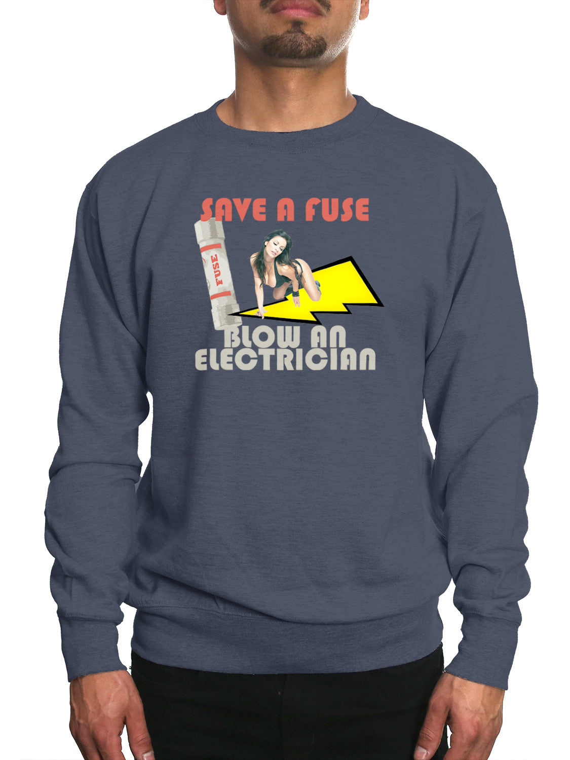 BLOW AN ELECTRICIAN