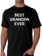 Best Grandpa Ever White Lettering