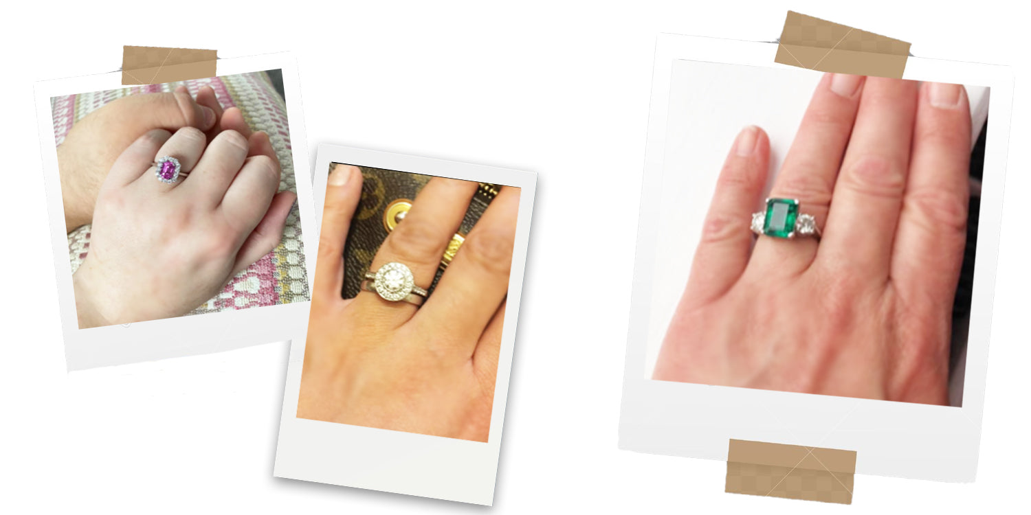 Katherine James Jewellery Client Photos