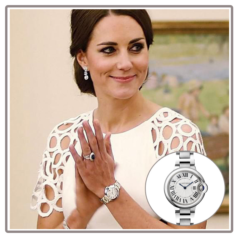 Duchess of Cambridge Ballon Bleu Cartier Watch