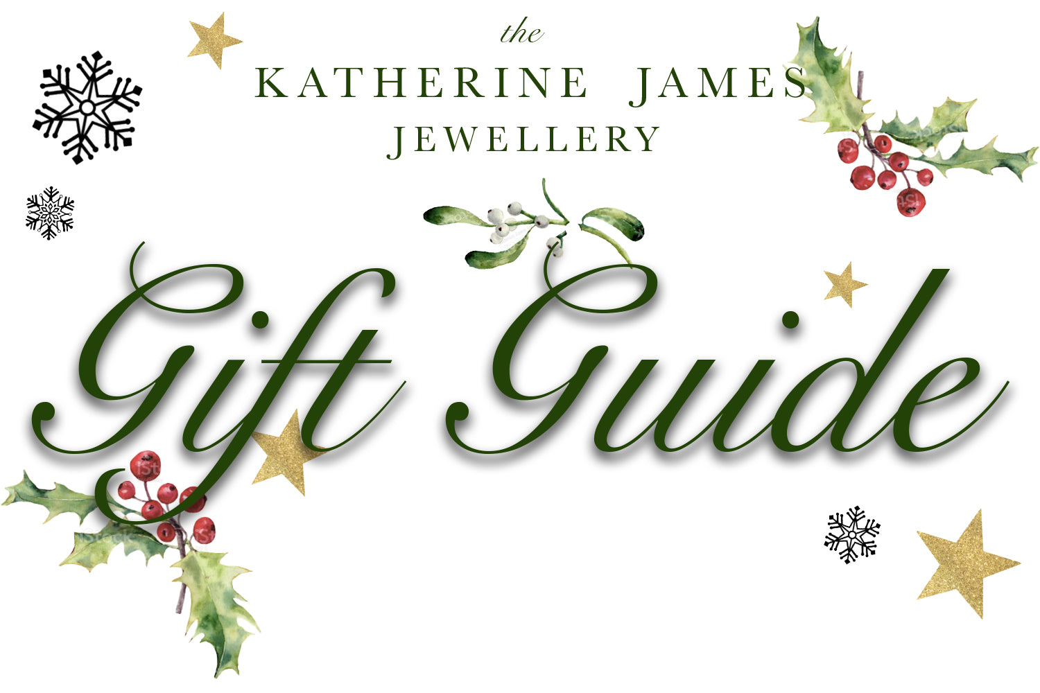 Katherine James Jewellery Gift Guide 2020