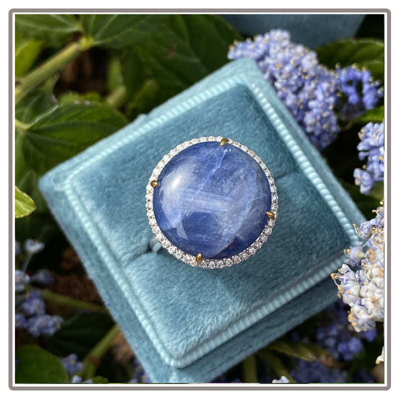 Blue Natural Genuine Star Sapphire to Buy for Sale