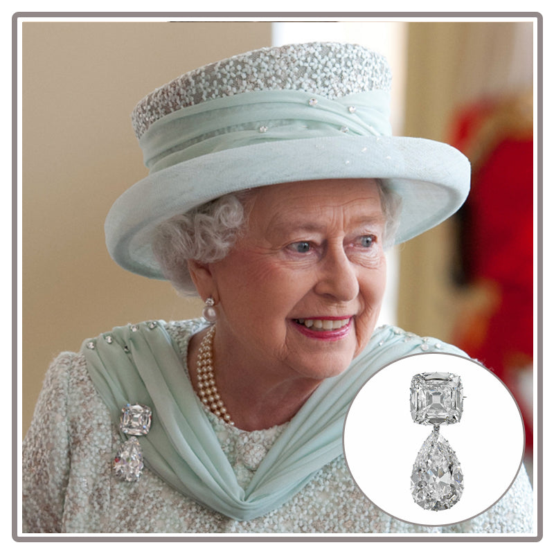 The Queen's Favourite Cullinan Diamond Brooch Granny's Chips