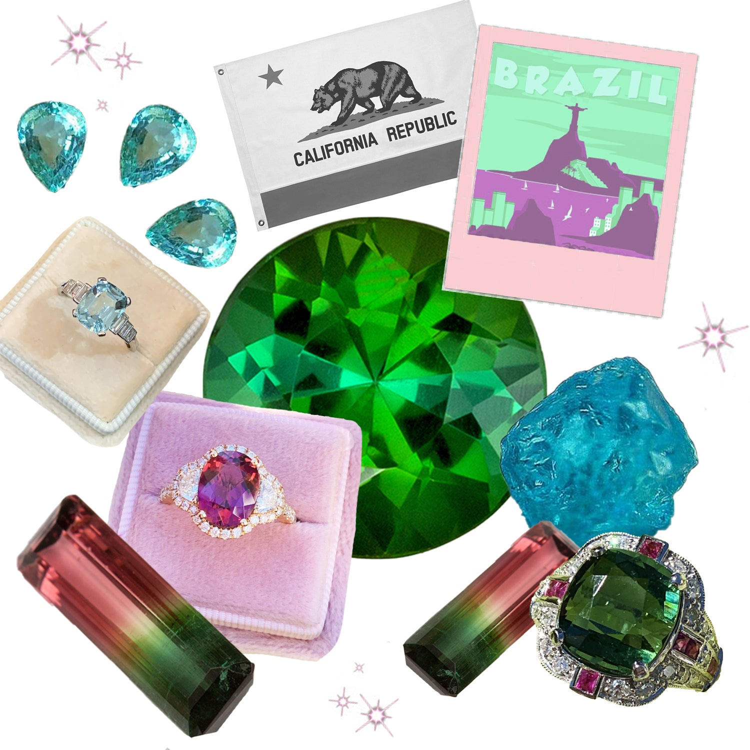 What are Tourmalines?