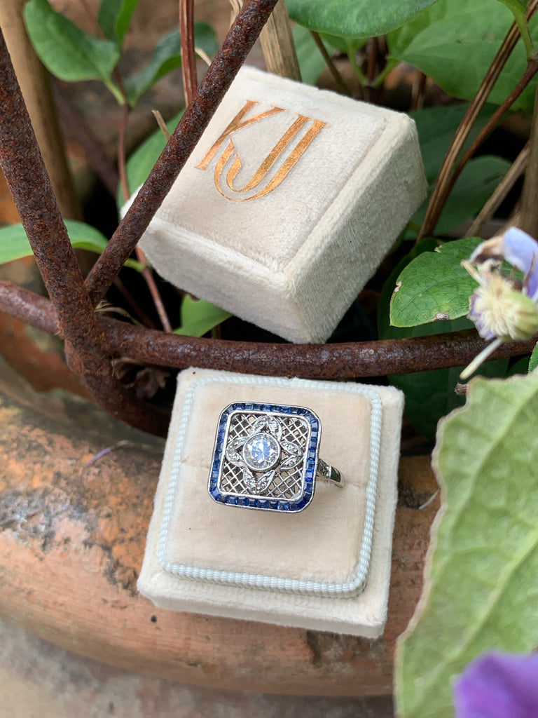 Katherine James Jewellery Art Deco Ring