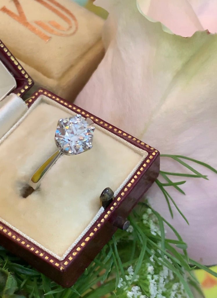 Wonderful 2.07ct Solitaire Engagement Ring