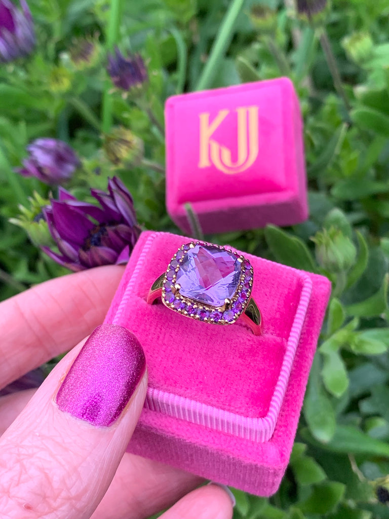 Stunning Amethyst Cocktail Ring