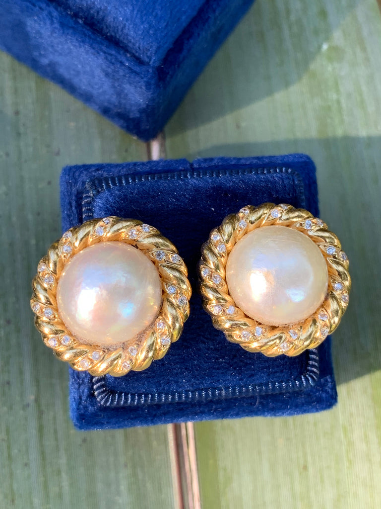 Katherine James Jewellery  Pearl Earrings