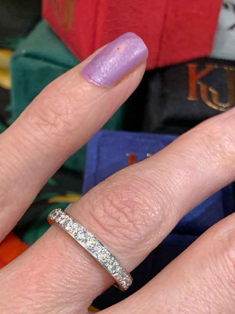 Beautiful Made to Order Full Eternity Ring