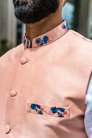 The Sahib in Peach