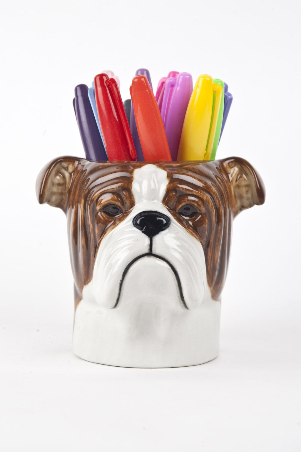 English bulldog - pencil pot