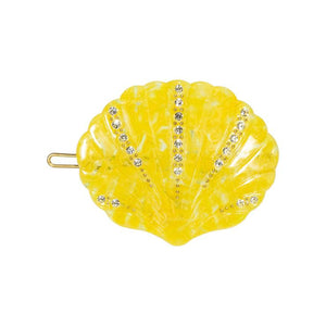 Pico Shelly Crystal clip - pineapple