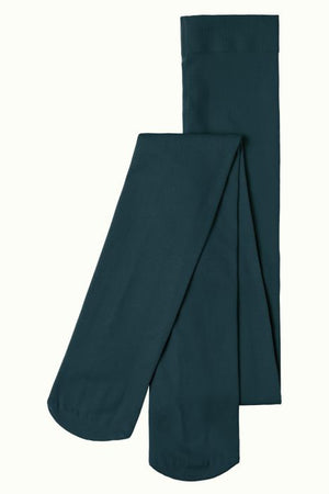 Tights solid - pine green