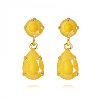 Caroline Svedbom øredobber Mini Drop earrings - buttercup yellow
