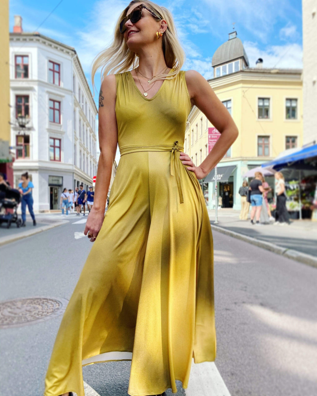Jolly Jumpsuit - gold