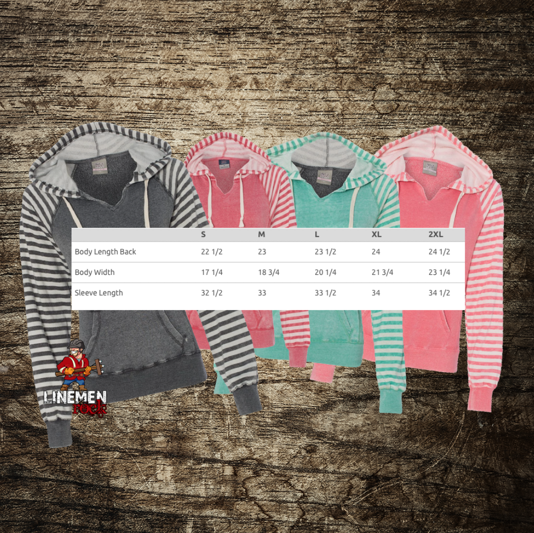 LInewife Striped Hoodie