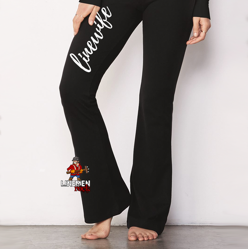 Linewife Cotton Spandex Fitness Pants