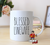 Blessed Linewife Rae Dunn Inspired Ceramic Lineman's Mug