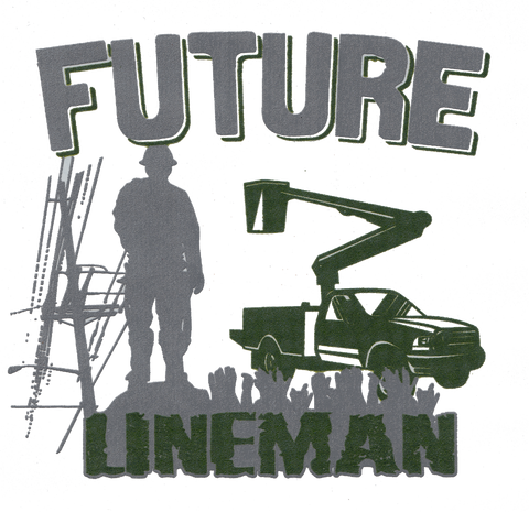 Future Lineman (Baby up to Large Youth, various colors)
