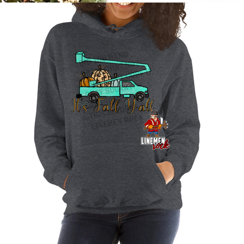It's Fall Y'all Bucket Truck Hoodie