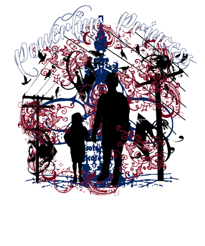 Powerline Princess (Baby up to Large Youth, various colors)