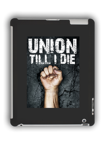 Union Till I Die iPad Case