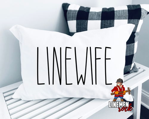 Linewife Rae Dunn Inspired Pillow