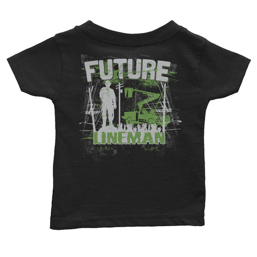 Future Lineman Infant Tee