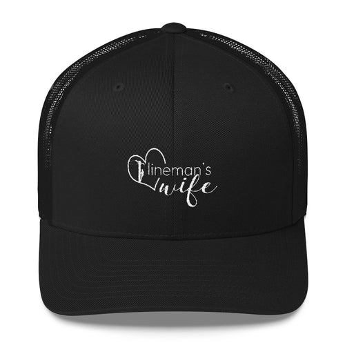 Lineman's Wife Trucker Cap