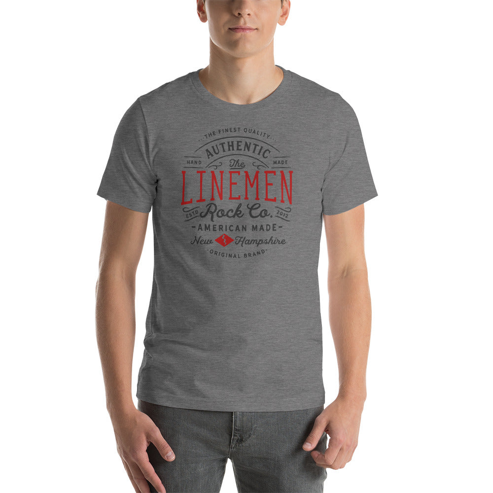 Linemen Rock Short-Sleeve T-Shirt - Linemen Rock - Lineman Shirts
