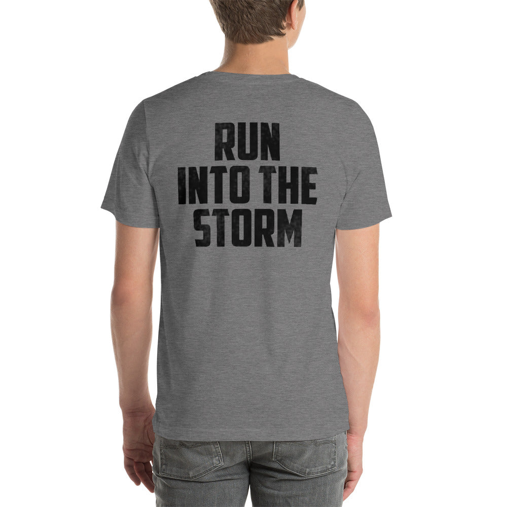 Run Into The Storm - Linemen Rock - Lineman Shirts