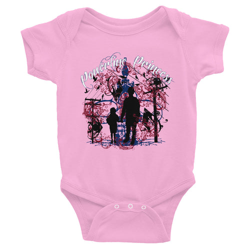 Powerline Princess Infant Bodysuit - Linemen Rock - Lineman Shirts