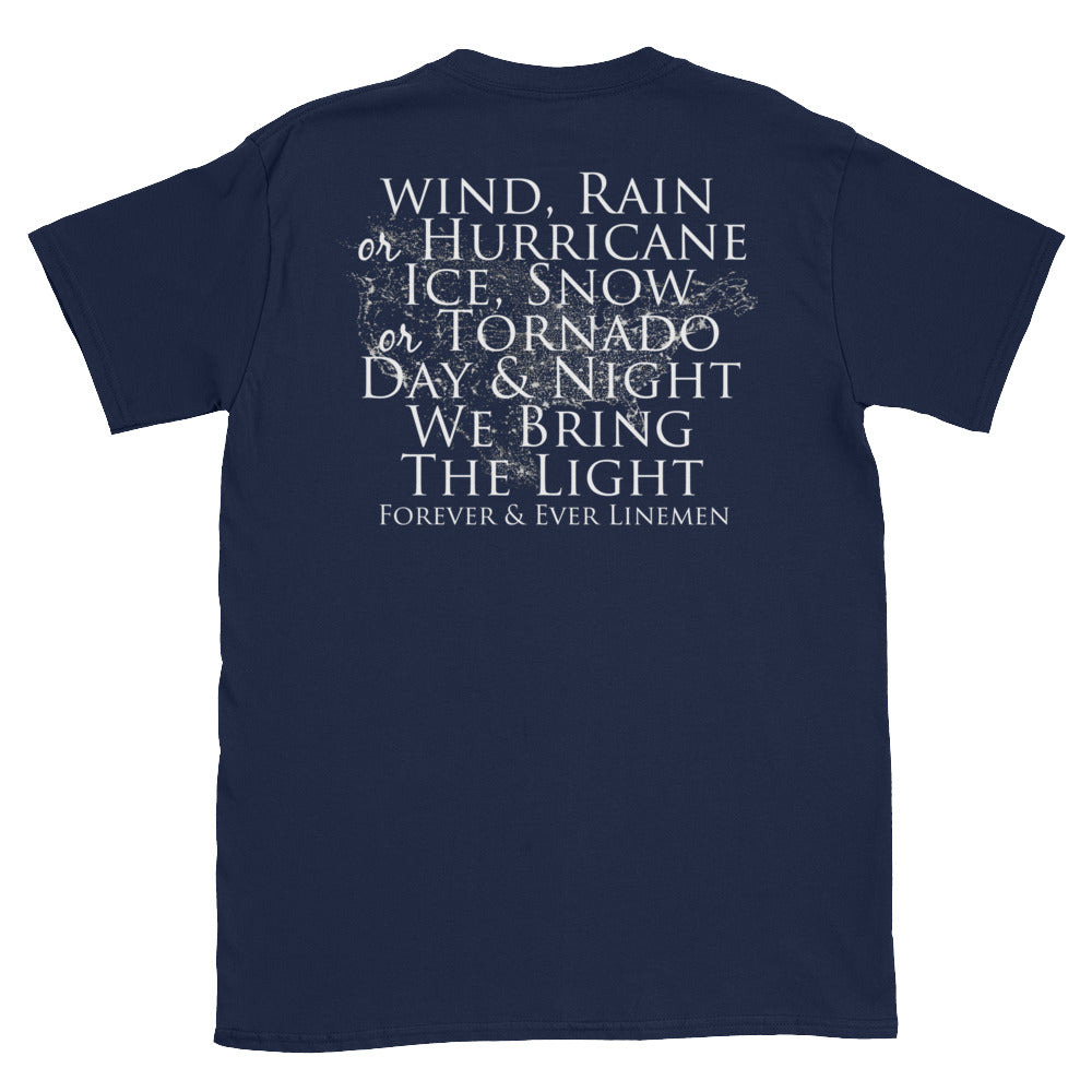 Wind Rain and Hurricane Short-Sleeve T-Shirt
