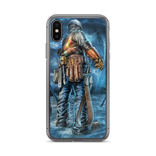 Stand In The Storm iPhone Case