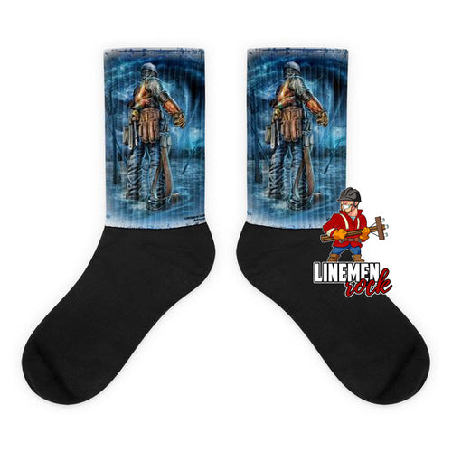 Stand In The Storm Socks