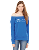 Fleece Wide Neck Sweatshirt